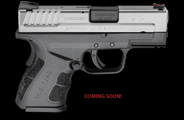 Springfield Armory XD Mod 2 sub-compact now available in